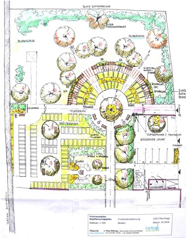 Friedhof Marchegg Erweiterung